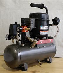 Homemade silent air compressor-68.jpg