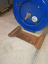 Hose Reel Mounting Bracket -- Tight Clearance-blue-hose-reel-installation-dec-2017-4-.jpg