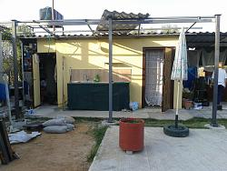 How to Build a Steel Structure House Part2 Expanding old roof-20150615_075521.jpg