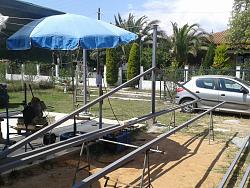 How to Build a Steel Structure House Part4 Roof Truss Assembly-20150628_151227.jpg