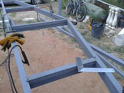 How to Build a Steel Structure House Part4 Roof Truss Assembly-20150628_204345.jpg