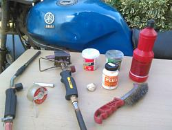 HOW TO REPAIR  YOUR  BIKE 'S OLD  FUEL  TANK-5.jpg