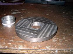 Lathe Chuck Backplate from a Barbell Weight-back-0-s.jpg