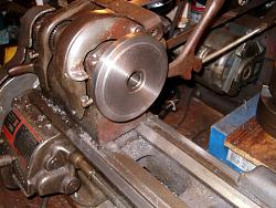Lathe Chuck Backplate from a Barbell Weight-back-1-s.jpg