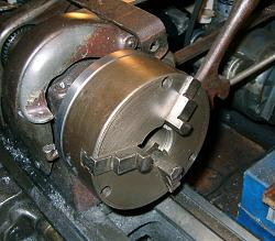 Lathe Chuck Backplate from a Barbell Weight-back-4-s.jpg