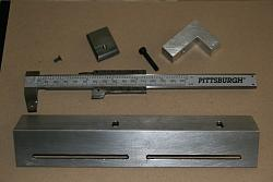 "Lathe DRO from Digital Caliper .. 10 Bucks .. 6"" caliper has range of entire 16"" bed-img_1125.jpg"