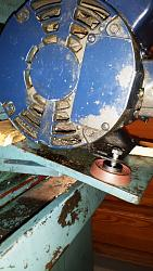 Lathe Motor Mount Improvements-installing-lathe-motor-mount-pads.jpg