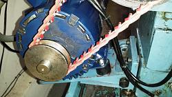 Lathe motor mount improvements for Anti vibration motor mounts