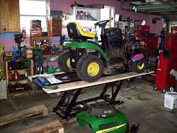 Lawn Tractor Lift Homemadetools Net