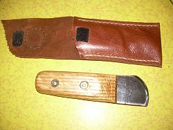 Leather skiving knife with sheath and knuckle knife with new sheath.-knives-sheaths-003.jpg