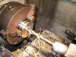 Made a wood lathe-8.-making-motor-double-belt-pulley-img_0587.jpg