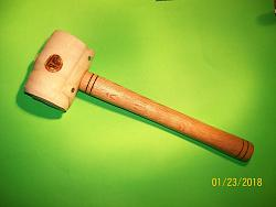 Make Your Own Large Rawhide Mallet-100_1208.jpg