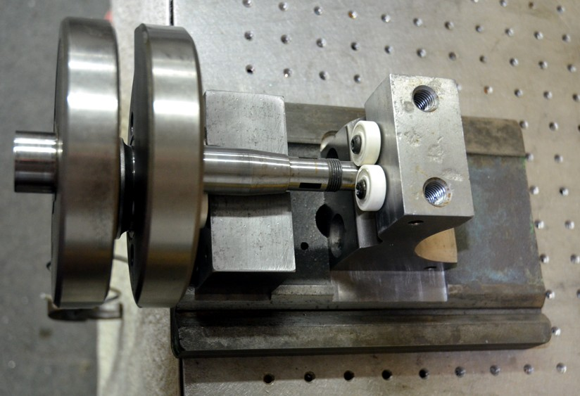 MC crankshaft alignment and balance tool  - HomemadeTools net