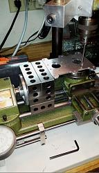 Modifications and Improvements to a Unimat SL 1000 Lathe-drilling-miniature-bolt-pattern-compound-steam-engine-entablature-.jpg