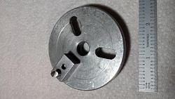 Modifications and Improvements to a Unimat SL 1000 Lathe-fly-cutter-attached-small-faceplate.jpg