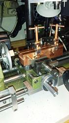 Modifications and Improvements to a Unimat SL 1000 Lathe-fly-cutting-ends-copper-vise-jaws.jpg