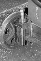 Outboard Support; Horizontal Bandsaw-jack-closeup.jpg