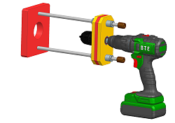 Portable Drill Guide [Free Plans + 3D model]-hmt-drill-press-plans.png