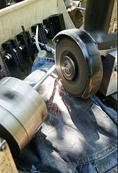 Precision Grinding a Hardened Shaft with an Improvised Toolpost Grinder-grinder-mount.jpg