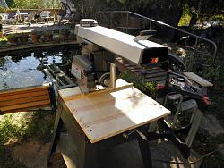 Radial Arm Saw-New Wood table-Fence-018.jpg