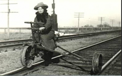 Railroad handcar - photo-annie-oakley.png