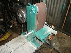 rebuild of home made belt sander-001.jpg