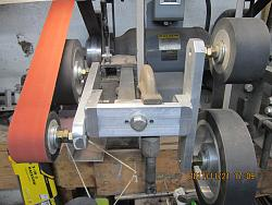 "Rotary four wheel attachment for 2""x72"" belt sander/grinder-img_1476.jpg"