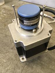 Rotary table stepper motor encoder mounting plate and encoder bore reducer-encoder-2.jpg