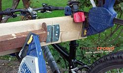Rough and Ready Bicycle Stand for Repairs and Maintenance.-stand-use.jpg