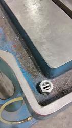 Round Column Drill Press, simple performance upgrades.-drain.jpg