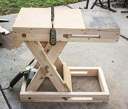 Scissor Bench- Motorized, Adjustable Height Workstation-058.jpg