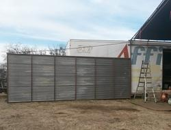Shop tent and Wind wall tent door-20170303_172536a.jpg