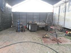 Shop tent and Wind wall tent door-20170303_173121a.jpg