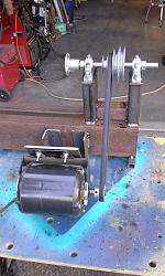 Simple Wood Lathe-20140725_173920.jpg