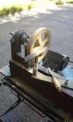 Simple Wood Lathe-20140726_144154.jpg