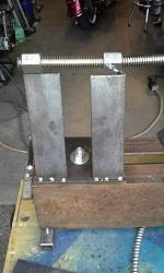 Simple Wood Lathe-20140815_183350.jpg
