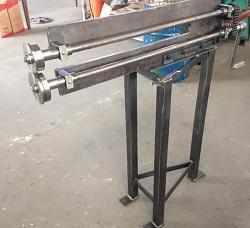 Slitter cutter sheet metal and aluminum , The sheet metal slitting machine hand-slitter-sheet-home-made.jpg