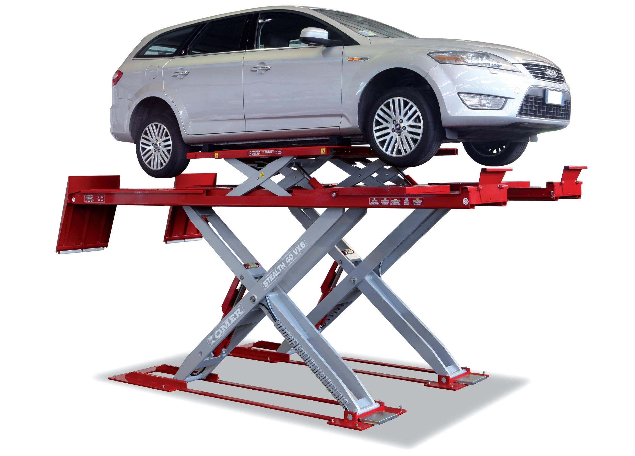 Small Car Low Height 24 Hydraulic Scissor Lift