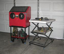 Small Workshop Lift-Table-stand-blasting-cabnet.jpg