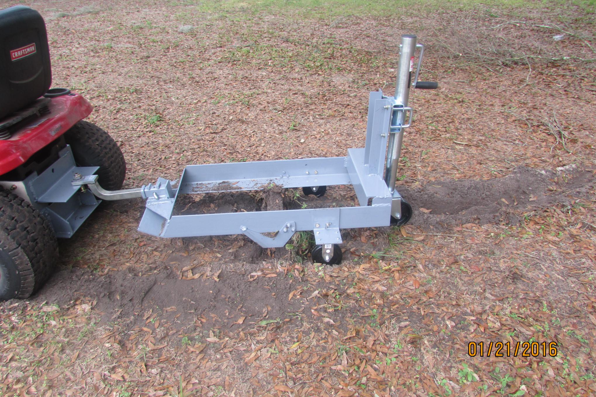 Sod Removal Sled Homemadetools Net