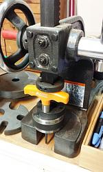 T-handle Allen Wrench Repairs-arbor-presses-ferrule-onto-t-handle.jpg