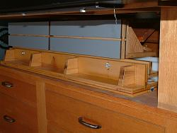 Table Saw and Router Work Center with T-Square Fence-5lowerdeckstorage.jpg