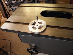 Table Saw  slotted Hand Wheel no. 2-007.jpg