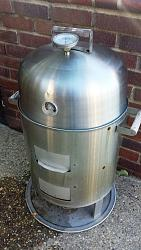 Thermometer holder adapter for smoker hood-thermometer-holder-adapter-installed-into-smoker-hood.jpg