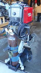 Tig Welding Cart from a Hospital Cart.-weldercart.jpg