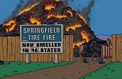 Tire fire at recycling plant - photo-springfieldtirefire.jpg