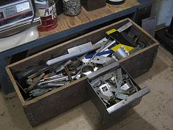 Under bench steel storage-img_5701.jpg