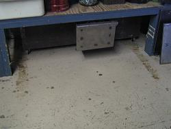 Under bench steel storage-img_5702.jpg
