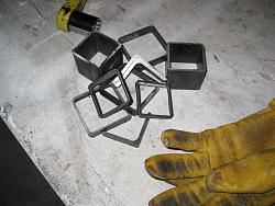 Vice Metal Casting from 3D Printed Patterns-left-over-metal.jpg