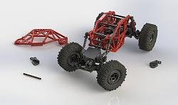 Vice Metal Casting from 3D Printed Patterns-micro-crawler-solidworks-rendering.jpg